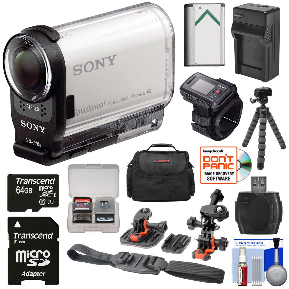 Sony Action Cam Hdr As200vr Wi Fi Hd Video Camera Camcorder Live Panasonic Hc Wx970 4k Ultra View Remote