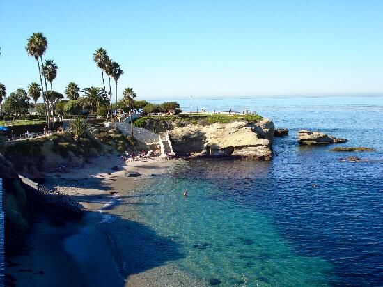 LA JOLLA COVE BEACH - SAN DIEGO Love this place!