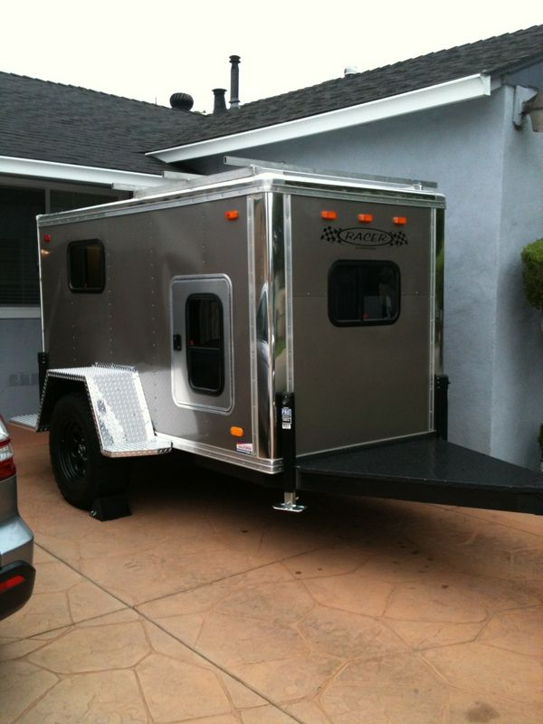 5x10 Enclosed Cargo Trailer Aka El Burro