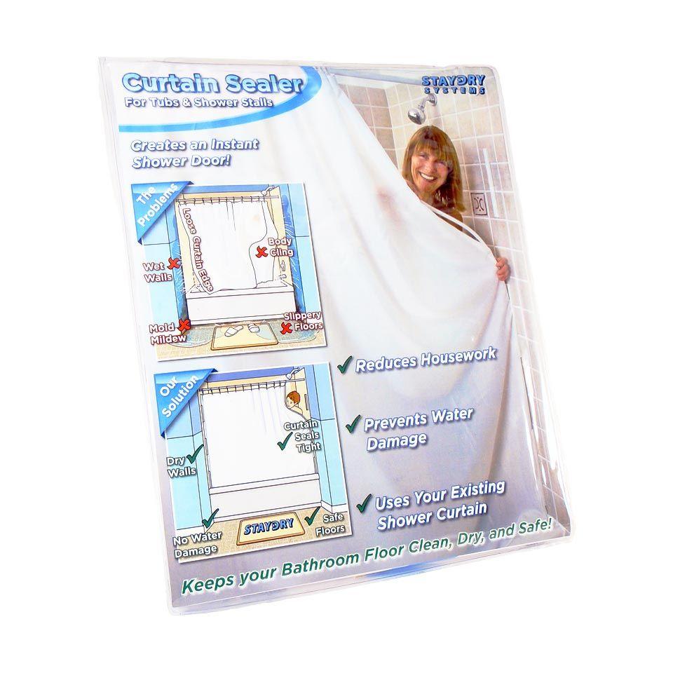 Shower Curtain Sealer Shower Curtain Water Dam Shower