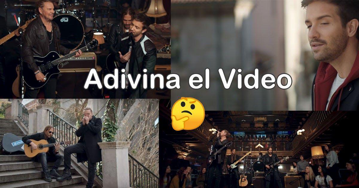 Adivina La Cancion Es Con Las Imagenes Del Video Canciones Adivino Videos