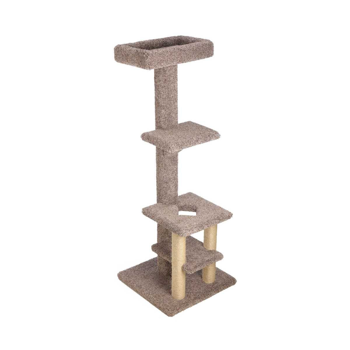 f40d42f2c1ad Deluxe Tiered Cat Tree with Customizable Top Lounge - CatsPlay Superstore