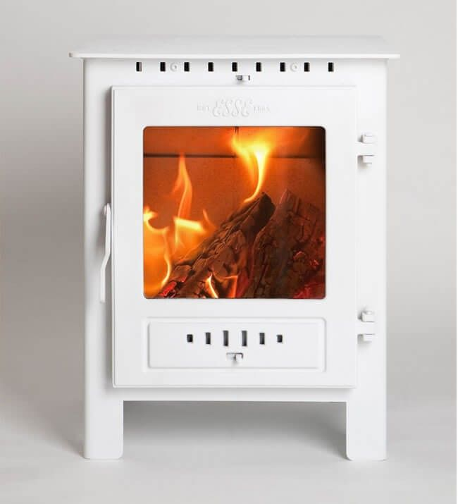 White Wood Burning Fireplace Esse One Ash Multi Fuel Defra Roved Stov On Rais Malta Stove For Sal