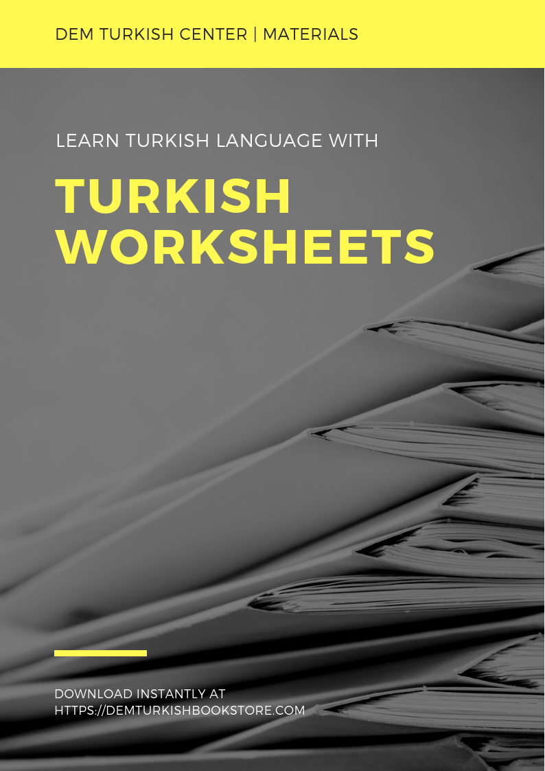 Download Printable Turkishlanguage Worksheet With Exercises And Audios For Self Study Turkish Turkey Learn Turkish Language Learn Turkish Turkish Language [ 1123 x 794 Pixel ]