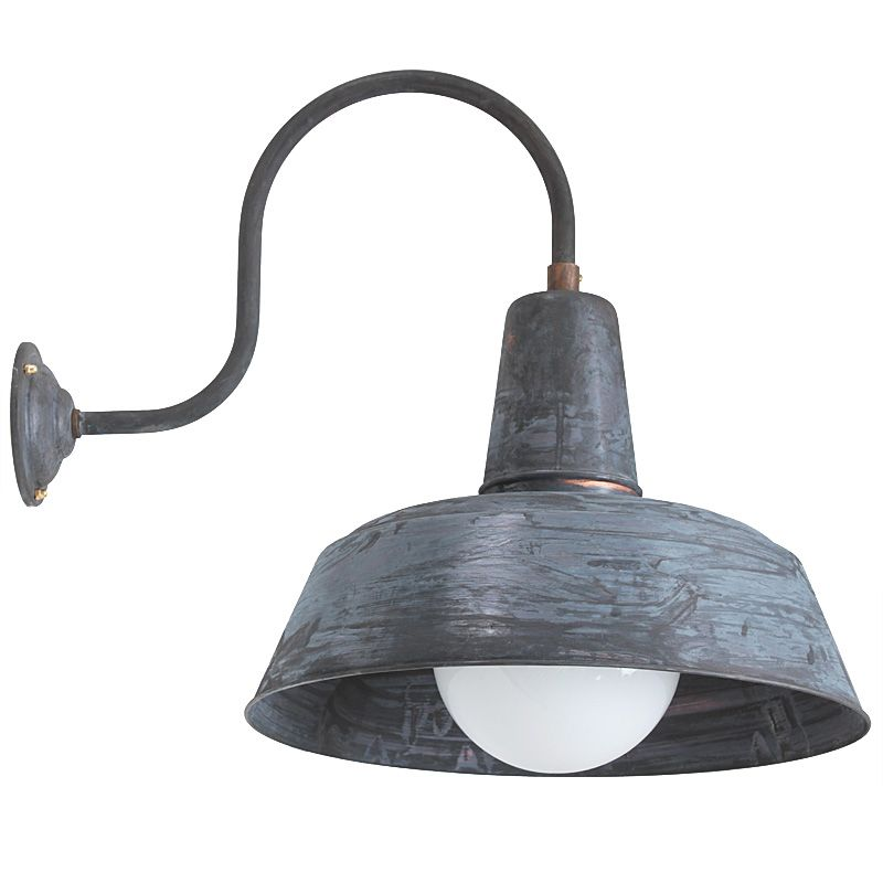 industrial style outdoor lighting. Original Industrial Style Outdoor Sconce Berlin W1600 Patina By Bolich Leuchten Lighting
