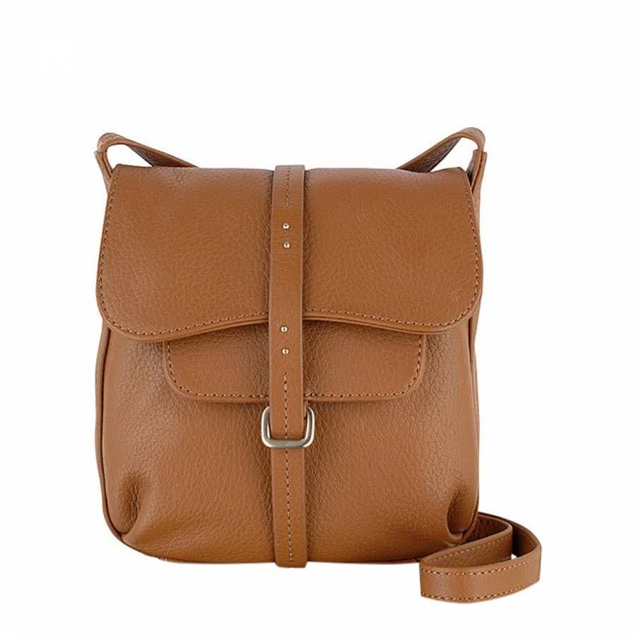 Brown Grosvenor Small Flapover Body Bag - Radley d4282a59a227d