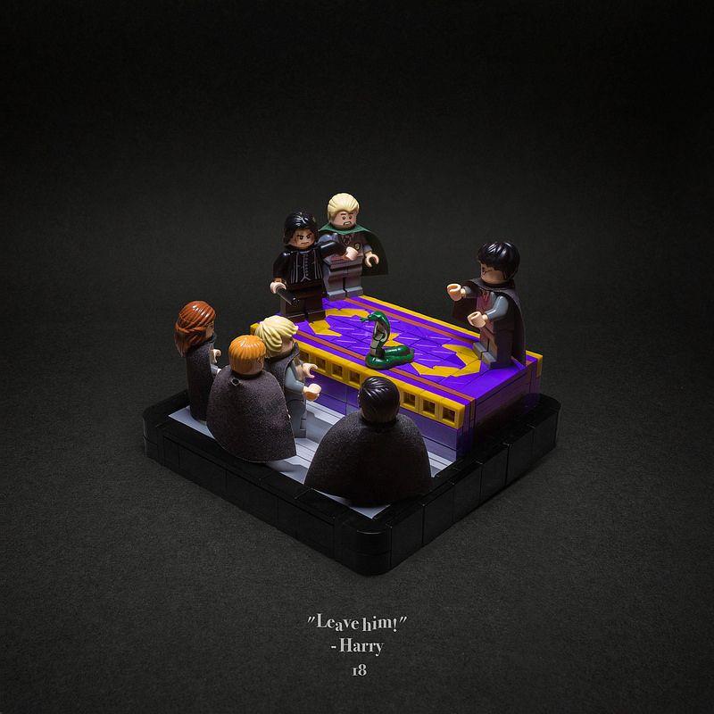 018 The Duelling Club Harry Potter Lego Sets Lego Hogwarts Lego Harry Potter