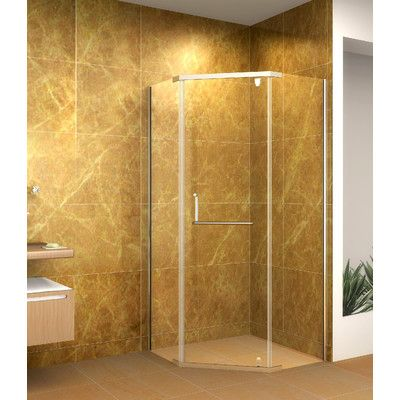 Aston Global Neo-Angle Shower Enclosure | Wayfair | Guest bath ...