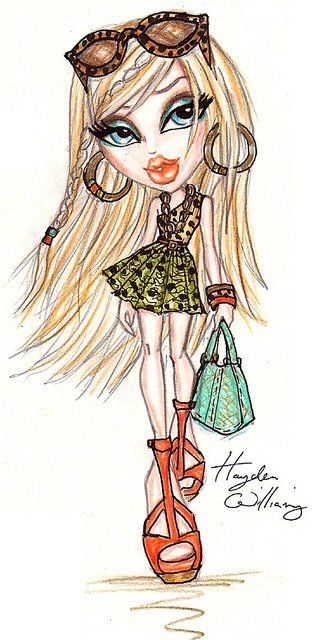 Bratz Style It Cloe By Hayden Williams Fashion Sketchs