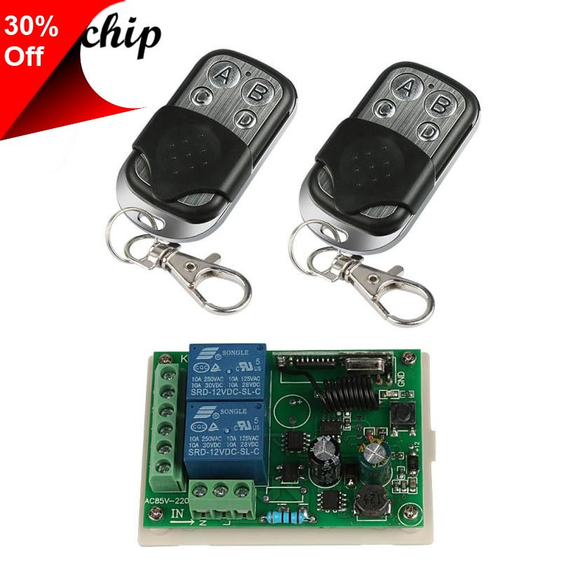 Only 4 29 433mhz Wireless 4 Channel Rf Relay Remote Control Toggle Switch Dc 12v Receiver Module 433 Mhz Transmitter Remote Controls Diy