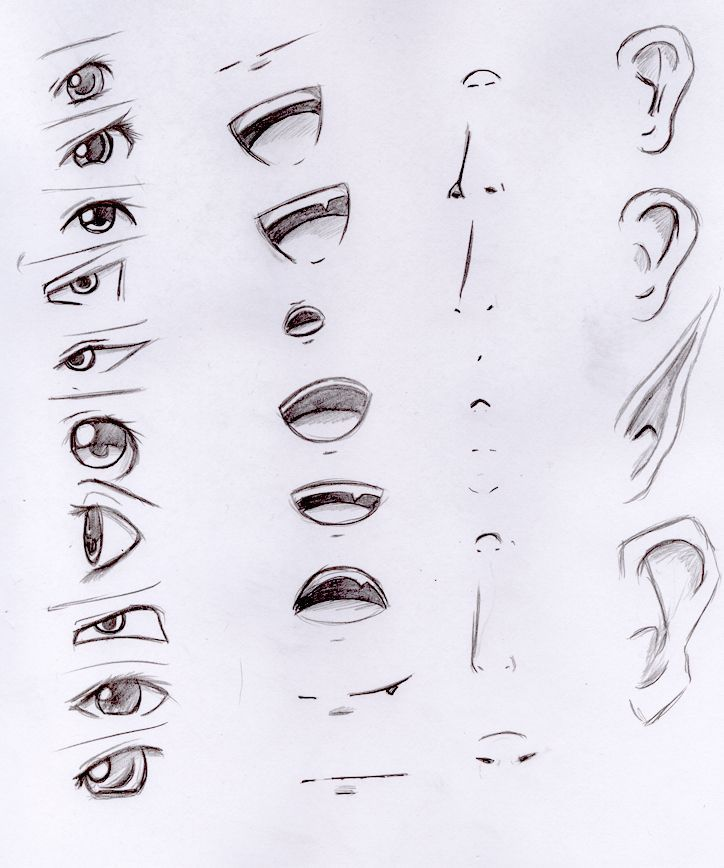 Pin By Mondenstern On Painting Nose Drawing Anime Drawings Tutorials Anime Drawings