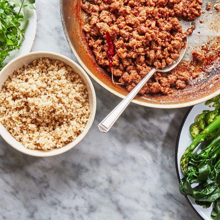 Garlic-Chile Ground Pork   Recipe in 2020   Ground pork ...