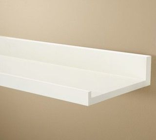 Floating Shelves With Lip Brilliant Holman Shelf Antique White  Traditional  Wall Shelves Review