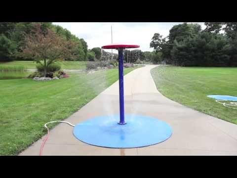 Umbrella | Portable Splash Pad Water Play Features