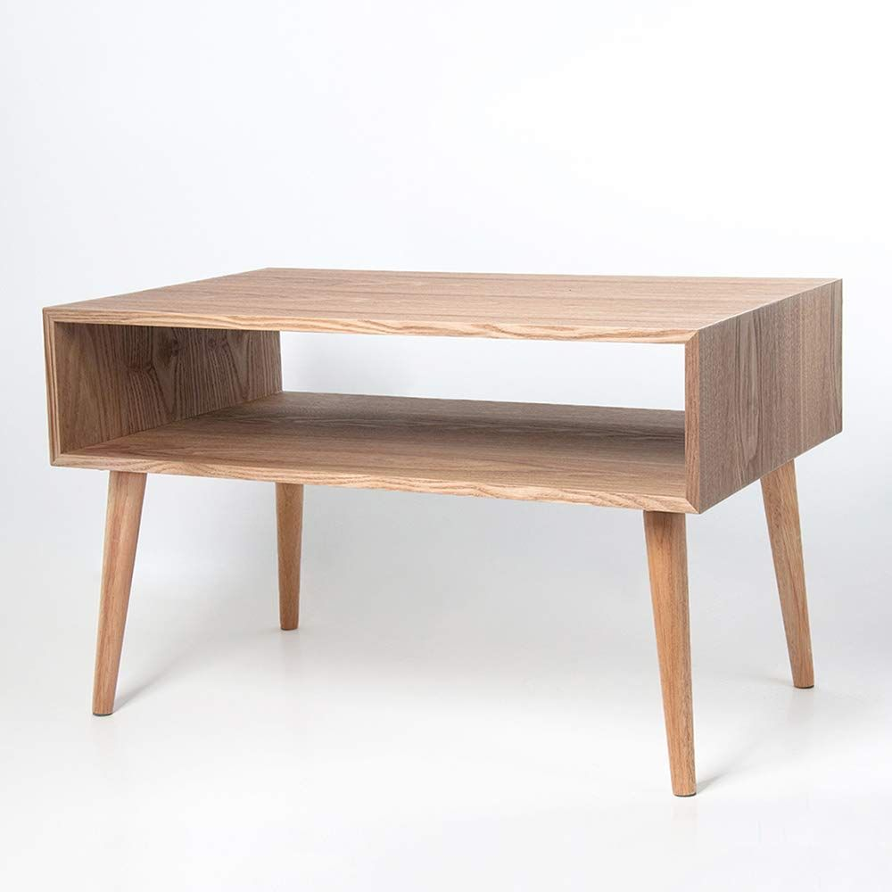 Xrxy Side Table Creative Solid Wood Reinforce Side Cabinet Storage Storage Box Living Room Sofa Side Corner Bedroom Bedside Table Simple Bedroom Corner Table #side #cabinet #living #room