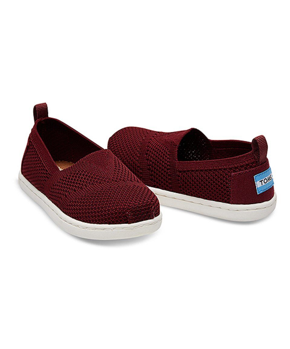 5bee19a2055 Take a look at this Burgundy Mesh Classics - Tiny today!
