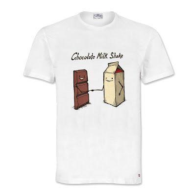 Chocolate Milk Shake T-Shirt Size: S M L XL. Order: 087782342244 info@excelcy.com  http://www.excelcy.com/2013/03/chocolate-milk-shake.html