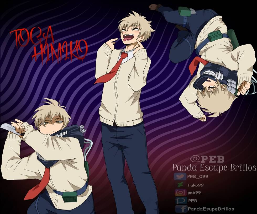 Toga Himiko Male 2 Genderbend By Peb99 Hero Academia
