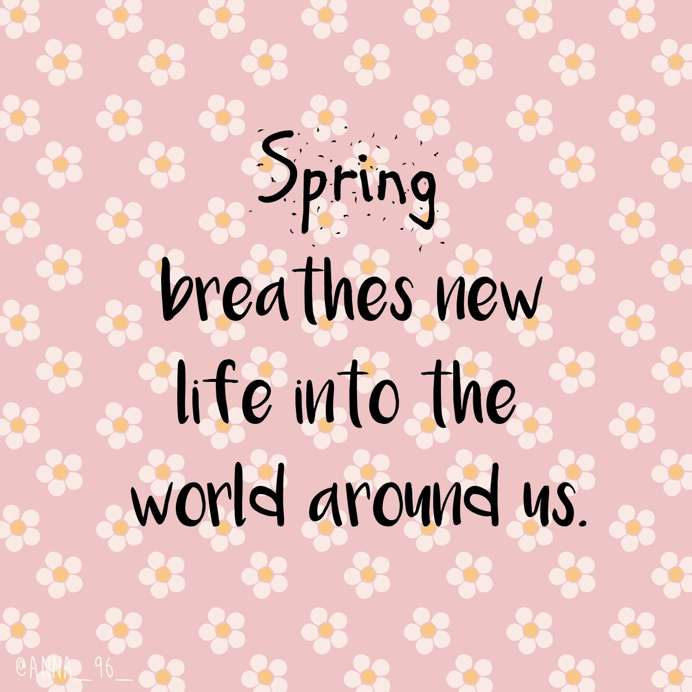 Spring quote 🌸