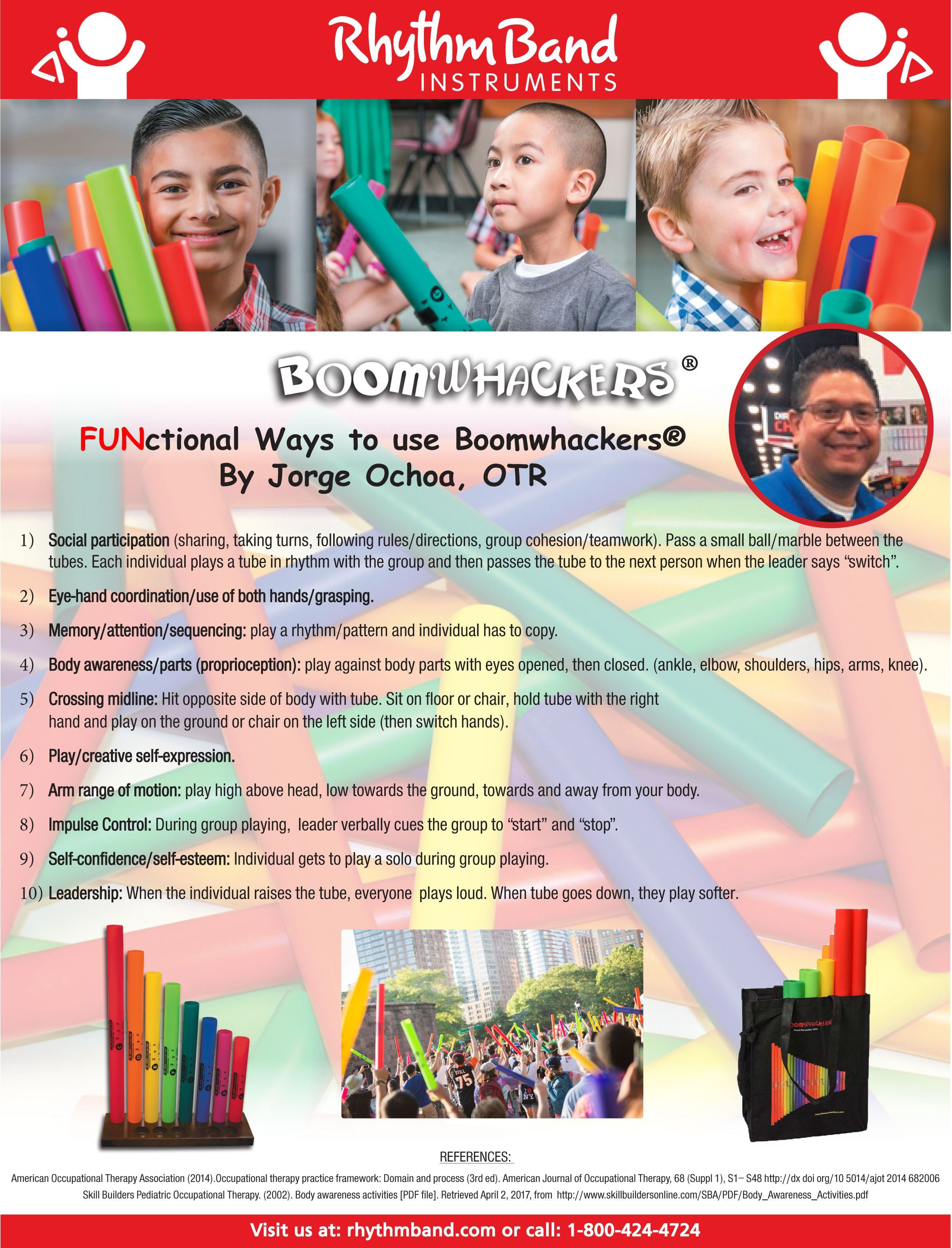 Boomwhackers Occupational Therapy