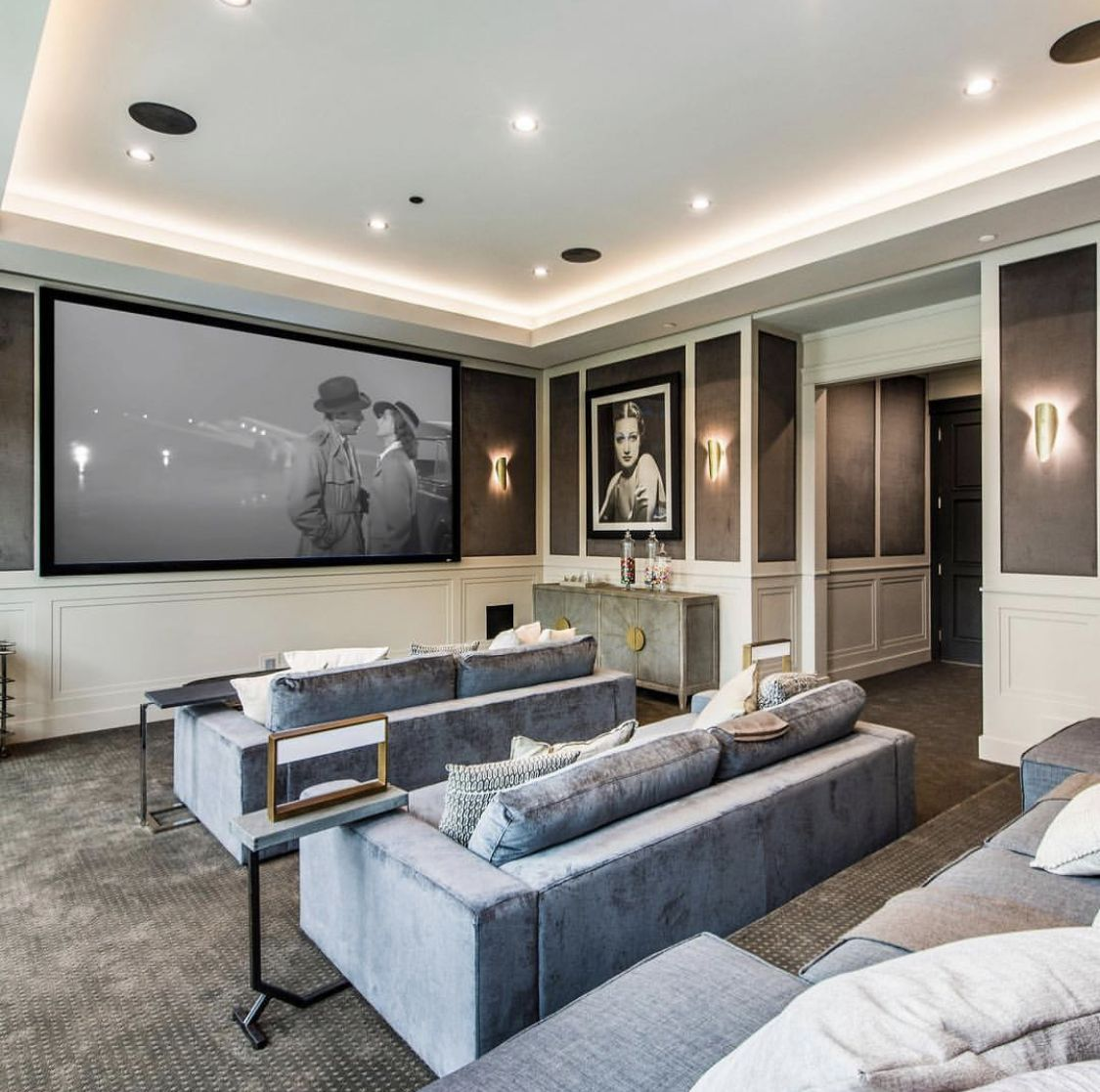 Cozy Home Theater: Home, Home Buying, Lounge Areas