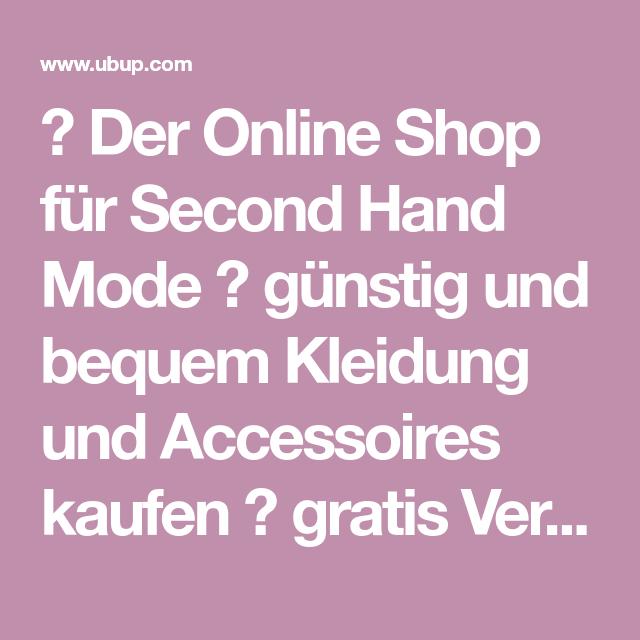 Marken kleider second hand online