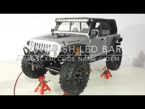 Giostealthr1 vanquish rc led light bar kit axial scx10 jeep plus giostealthr1 vanquish rc led light bar kit axial scx10 jeep plus update aloadofball Images
