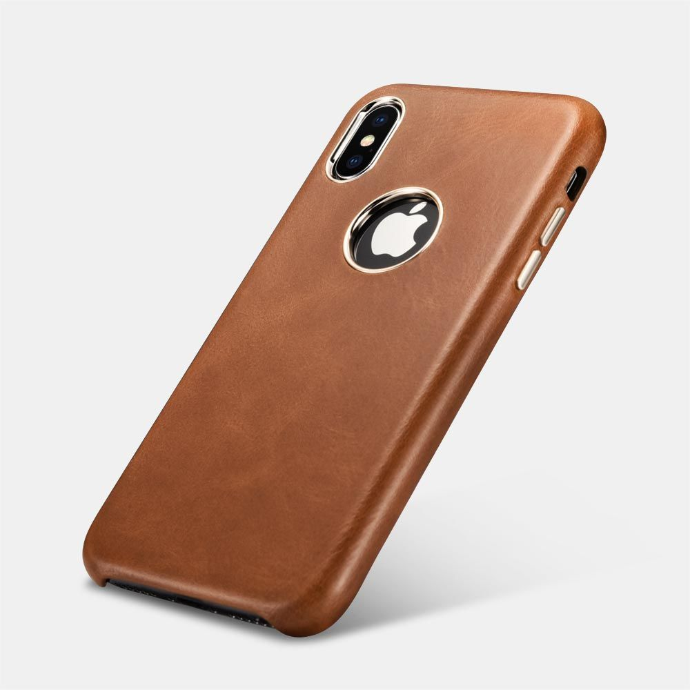 iPhone Xs Leather Case Ultra Slim Genuine Vintage Leather