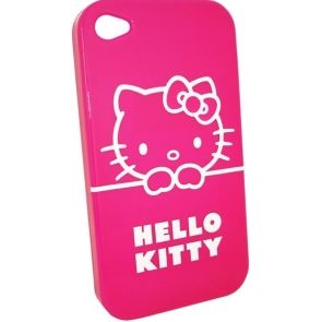HUSA HELLO KITTY HKIPTPFU HARD CASE FUCSIA PT. IPHONE4/4S