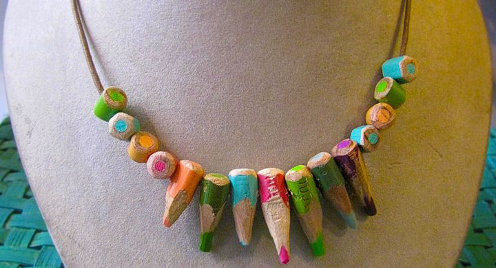 Ideas para reciclar lápices de colores
