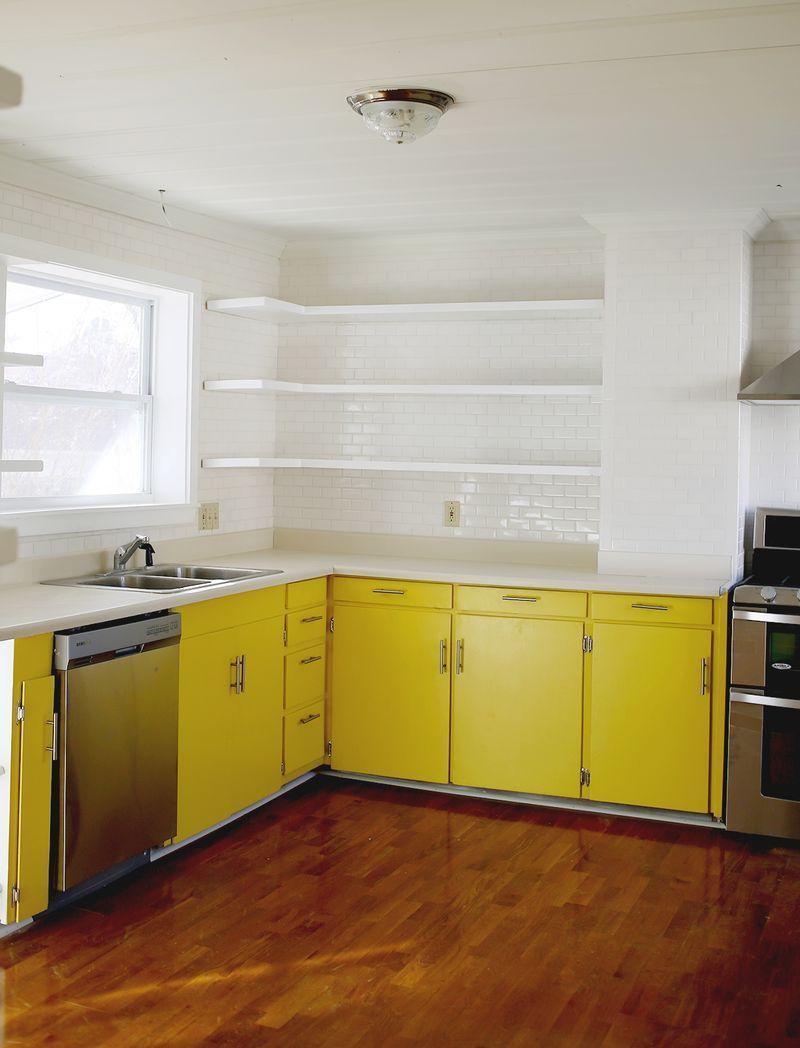 designer kuche kalea cesar arredamenti harmonischen farbtonen, abm studio: the kitchen (progress!) - a beautiful mess | buurtspoor, Design ideen
