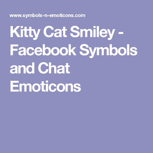 Kitty Cat Smiley Familia Pinterest Smiley