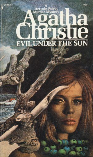 Evil Under The Sun By Agatha Christie Pocket Book Edition With