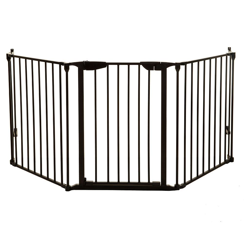 Dreambaby Newport Adapta Gate, Black | Safety gate, Metal ...