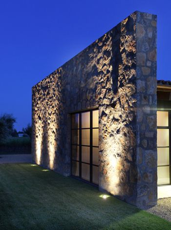 Wall Washing Vertical Illumination Landscape Lighting