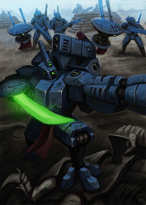 Warhammer 40k - commander thornhide by thevampiredio.deviantart.com on @deviantART