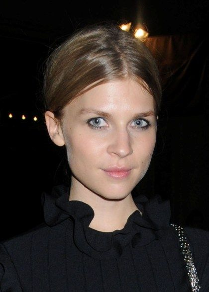 clemence poesy eye makeup get the look pinterest