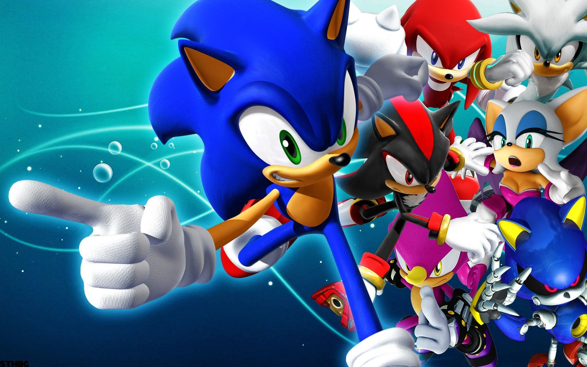 Sonic The Hedgehog Computer Wallpapers Desktop Backgrounds