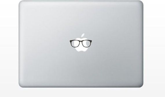 Glasses Funny Cute MacBook Pro Air Decal  As Seen On TV | Etsy