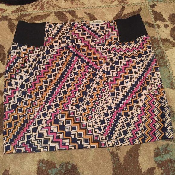 Charlotte Russe Pattern Skirt! Size XL Charlotte Russe Pattern skirt! Charlotte Russe Skirts Mini