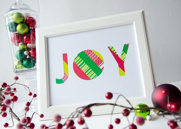 Simple Joy Sign Tutorial #ScotchEXP | Joy sign christmas, Joy sign, Christmas spirit