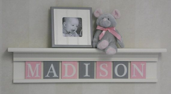 Personalized Nursery Girl Room Decor