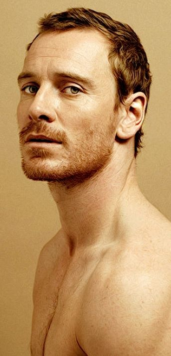 Michael Fassbender as Galen... In this photo his eyes seems green, perfect!! Nalini Singh, guild hunter series