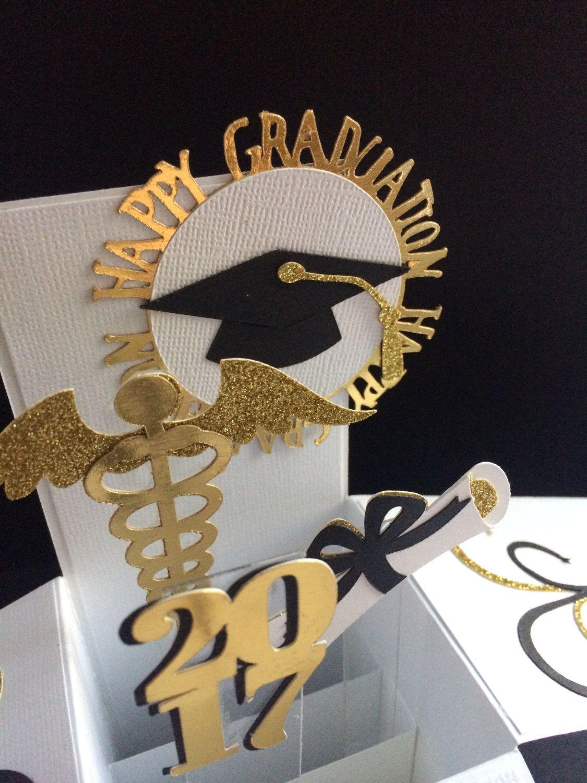 2019 3 D Medicalstudent Nursing Student Graduation Giftcard