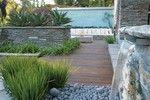 Jardín modernista (Distintos materiales)