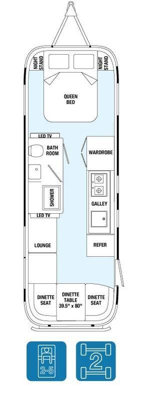 Floor Plans Land Yacht 28exterior Length 28 Exterior Width 8 5 5 Interior Width 8 1 Exterior Height Yacht Flooring Travel Trailer Floor Plans Airstream