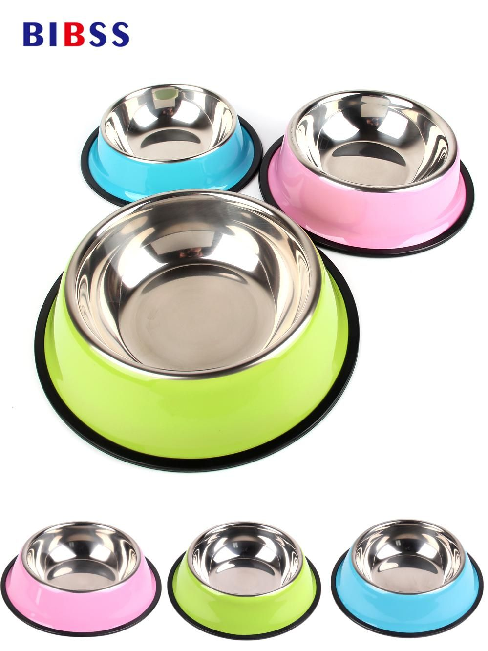 Sport Travel Pet Dry Food Cat Bowls For