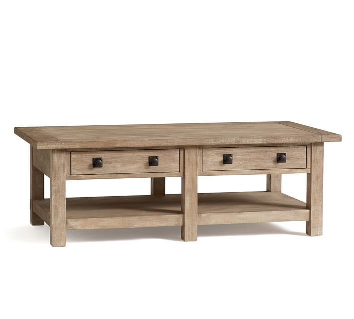 Benchwright Rectangular Coffee Table Seadrift 60 W X 40 D