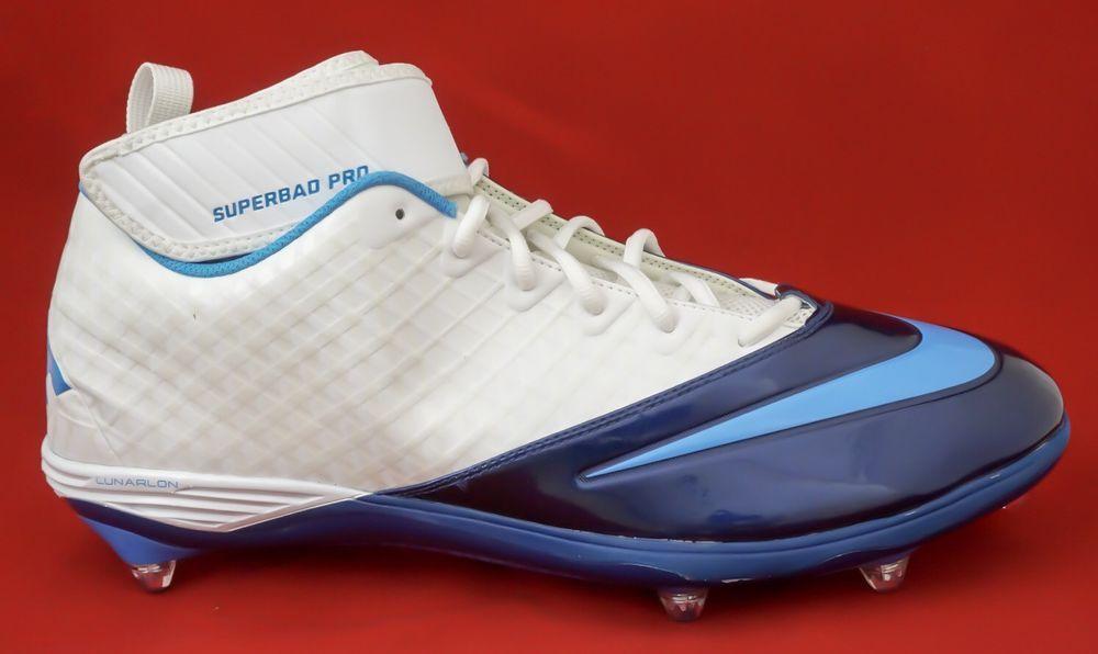 differently 4eaf6 67289 New Nike Lunarlon Superbad Pro Football Cleats Mens 17 (eBay Link)