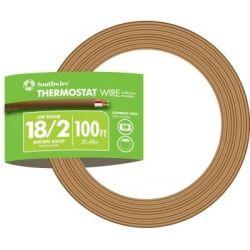 Southwire 100 Ft 18 2 Gauge Thermostat Wire 64162180 Doorswindows Doors Dooraccessories Doorbellsintercoms Bellwireacce Thermostat Wiring Thermostat Wire